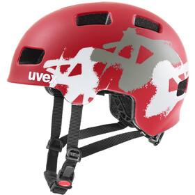 UVEX hlmt 4 CC Helmet Kids red mat